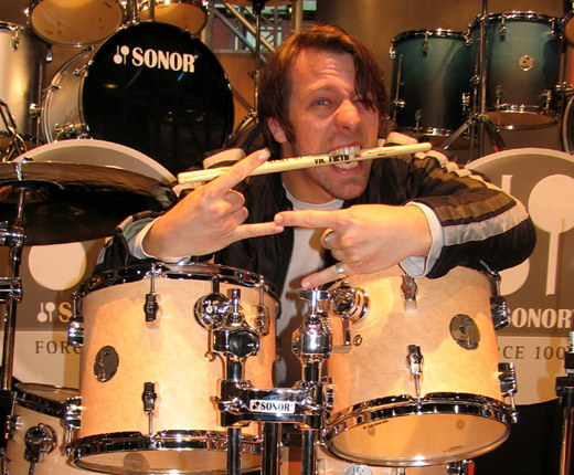 Dennis-Poschwatta-drummer-	Alternative-rock-band-Guano-Apes